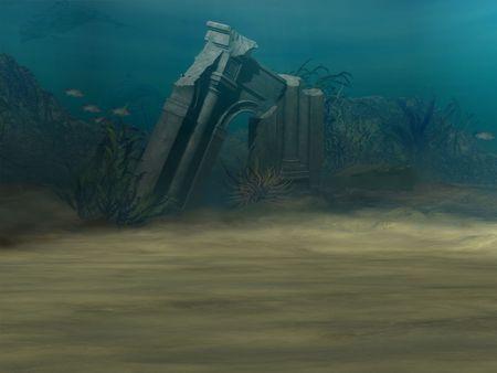 Underwater Background Stock Photo - 765433