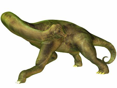 Brachiosaurus-LookBack Stock Photo - 844966
