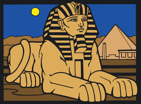 egyptian: Illustration Vector of Egyptian Silouette Illustration