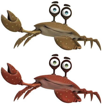 deepsea: Toon Crab