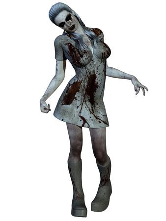 abhorrence: Halloween Creature - Bloody Nurse