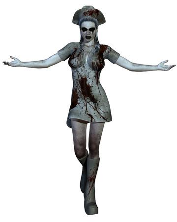 spattered: Halloween Creature - Bloody Nurse