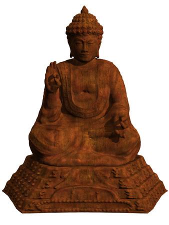 srilanka: Buddha statue