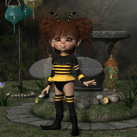 feeler: Toon Figure - Bee