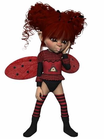 feeler: Toon Figure - Lady Bug
