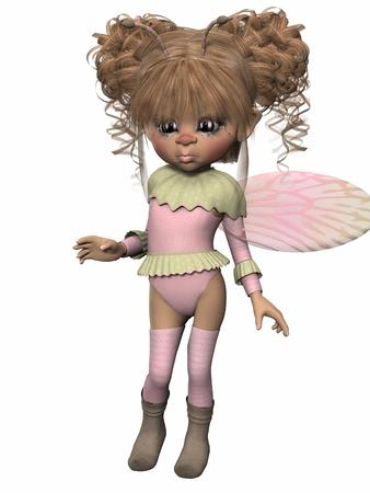 toon: Toon Figure - Fantasy Bug Stock Photo