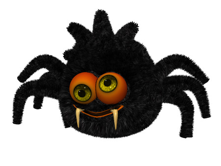 toon: Cute toon spider