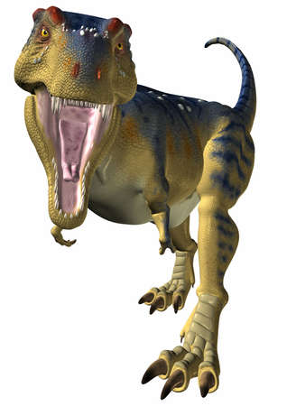 Tyrannosaurus-Better Watch Out Stock Photo