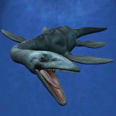 Elasmosaurus Stock Photo