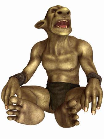 enano: Figura de fantas�a - Gobelin
