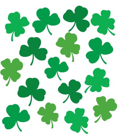 Clover pattern design element Stock Photo - 330022