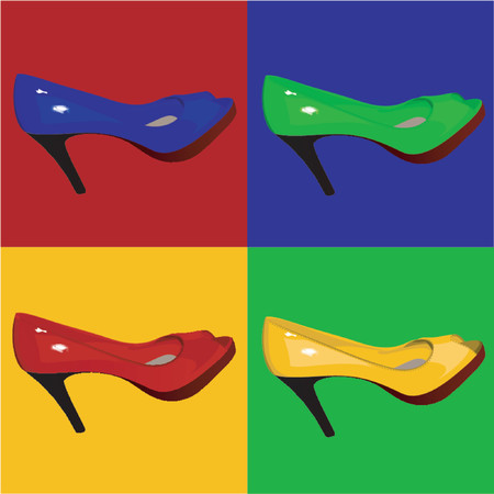 Multicolored Womens Shoes