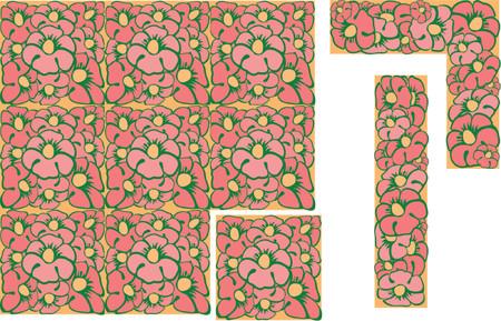 imagery: Floral Design Elements. Background. Illustration