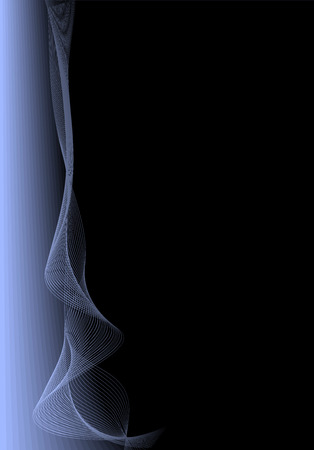 linee vettoriali: Black Blue Vector Background.No Lines trame.