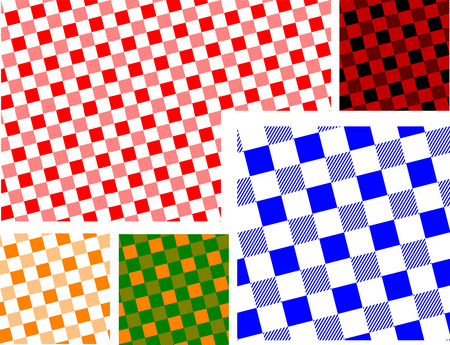 Seamless Traditional Square pattern Vector
