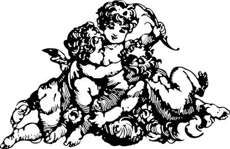 欲望: 黒と白の天使