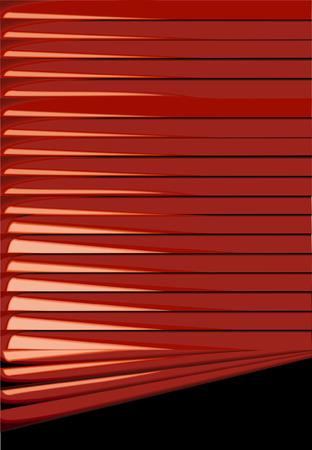 Red Venetian Blinds Backgrounds Vector