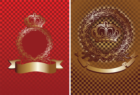 Cell And Crown Background. Vector Illustration. Stock Vector - 5727327