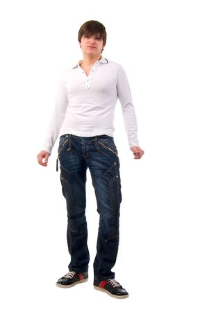 Studio Portrait Of Modern Young Handsome Man Stock Photo - 6594672