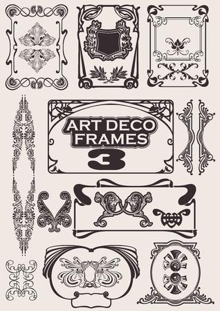 tatouage art: Ensemble d'images d'art d�co. D'autres en portefeuille.