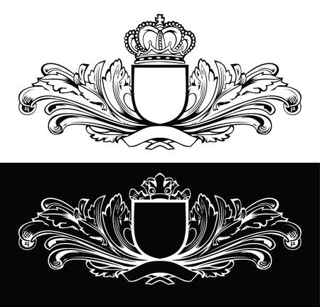 royal frame: One Color King Frames Illustration