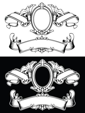 koninklijke kroon: Een Color Royal Crown Vintage Samenstelling