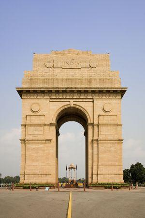 india gate: India Gate in New Delhi India Stock Photo