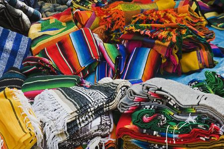 Local crafts and souvenirs in Cancun Mexico Stock Photo