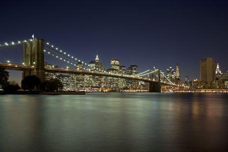 Brooklyn Bridge New York City New York USA photo