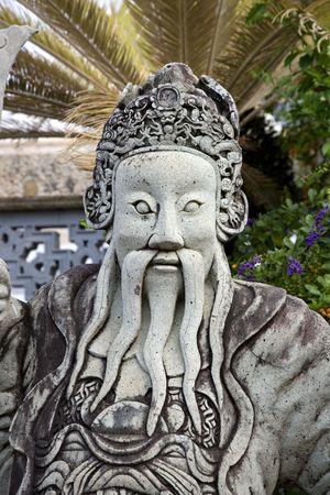 Statues guarding the Grand Palace in Bangkok  Thailand Stock Photo - 5195993