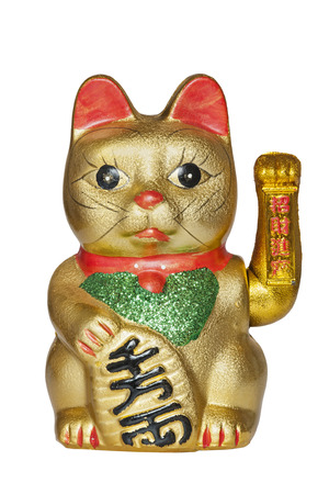maneki: The Maneki- Neki Cat is traditional cultural statue from Japan that is believed to bring great wealth