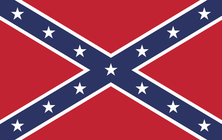 american army: The battle flag of the Army of Tennessee.  Also known as the Confederate Rebel Flag used during the American Civil War.