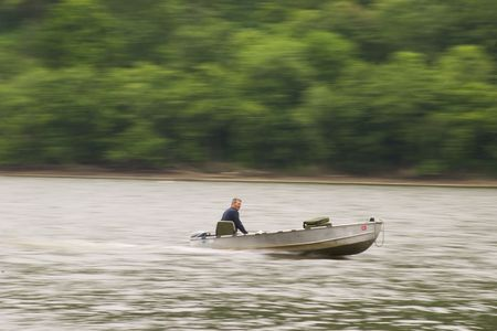 boater: panning boater