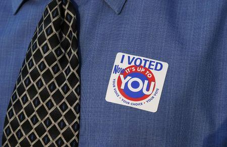 man voting Stock Photo - 340679