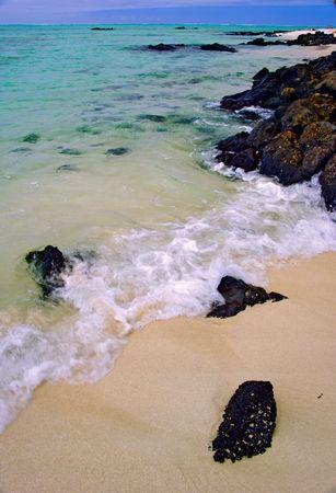 waves on a beach Stock Photo - 226717