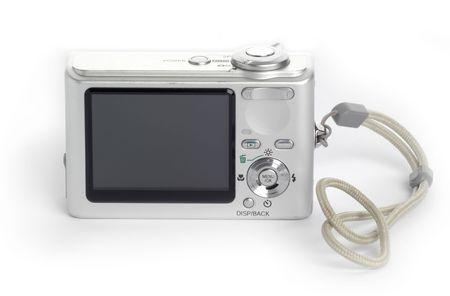 megapixel: Compact digital camera Stock Photo