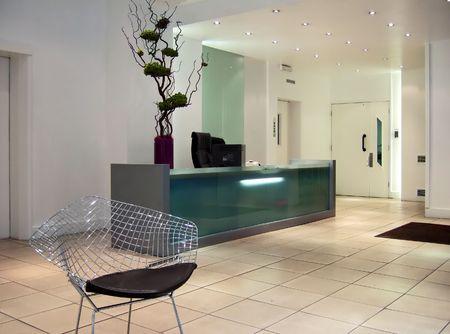 Modern office reception Stock Photo - 369107