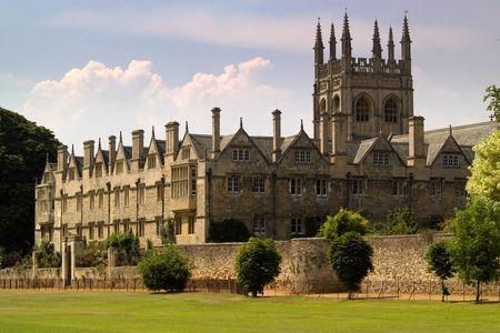 Oxford University College buildings photo
