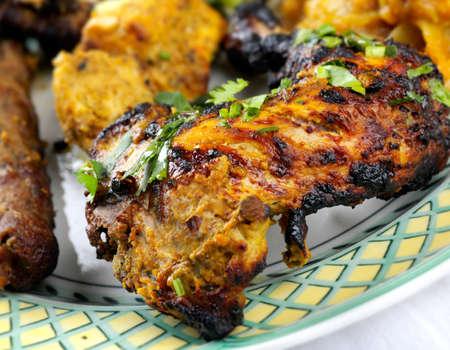 meats: Tandoori Chicken and meats