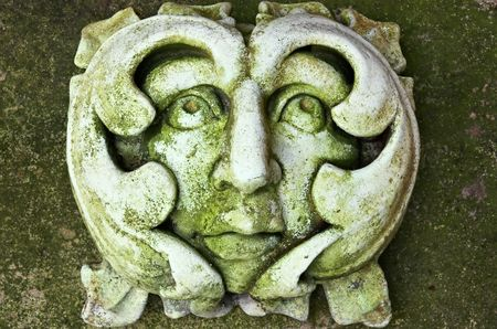 The Green Man Stock Photo