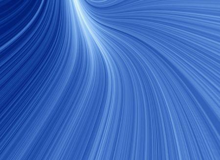Blue glow rays