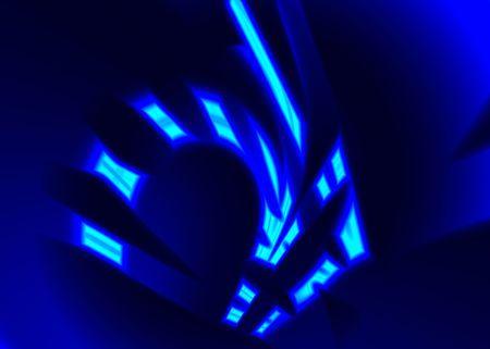 coverbook: Astrazione luce al neon  Archivio Fotografico