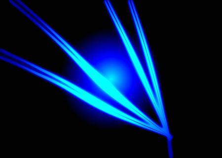 Space neon plant photo