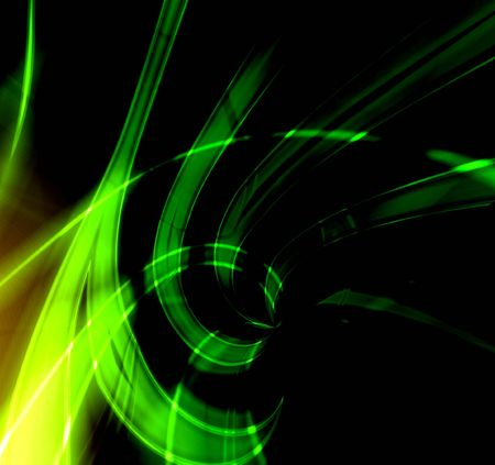 Green abstraction light Stock Photo - 391947