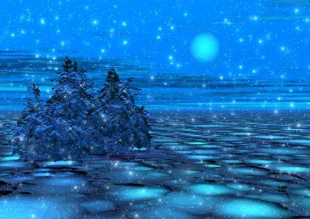 misty: Fantastic moonlight