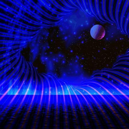 Space night Stock Photo - 401289