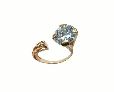Original ring with diamond Stock Photo - 408485