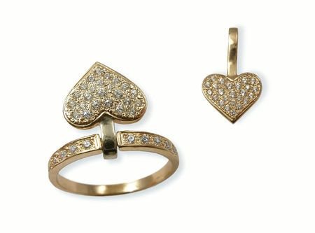 jewelle: Jewels in the form of heart