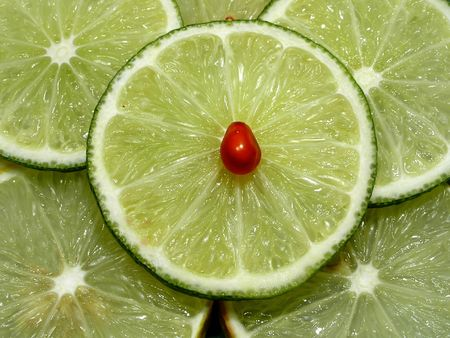 seminal: Decorative lemons and limes