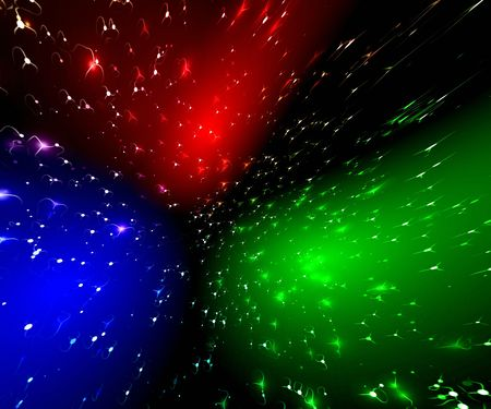 Rainbow abstraction space blurs photo